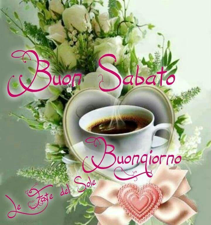 Buongiorno buon sabato caffè