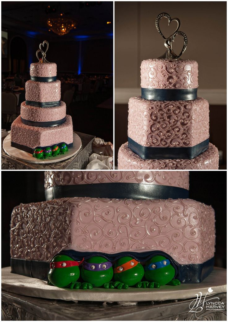 Coolest Wedding Cake Ever Teenage Mutant Ninja Turtles