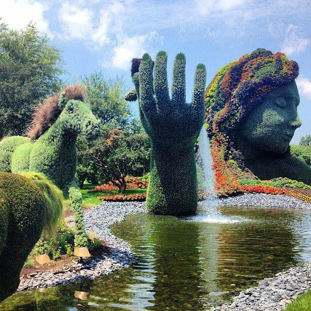 Mosaiculture from Montreal Botanical Gardens