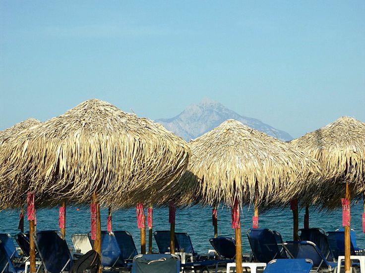 Pogled iz Sartija na Atos - #athos #sarthi