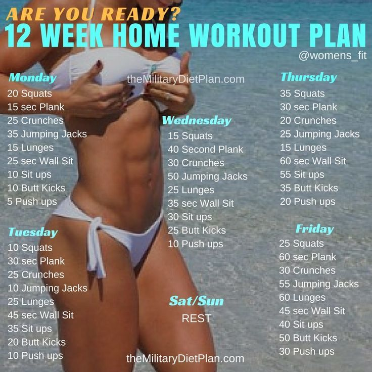 six-pack abs, gain muscle or weight loss, these workout plan is great for beginners men and women. No gym or equipment needed!