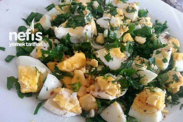 Kahvaltılık Yumurta Salatası