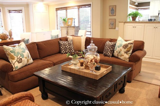 classic • casual • home: Casual Family Room.