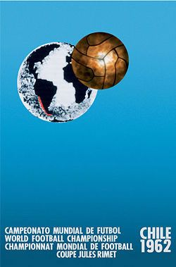 Chile, 1962 World Cup Poster
