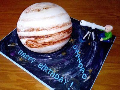 Tartas en 3D de Camelia : Tarta Planeta Júpiter