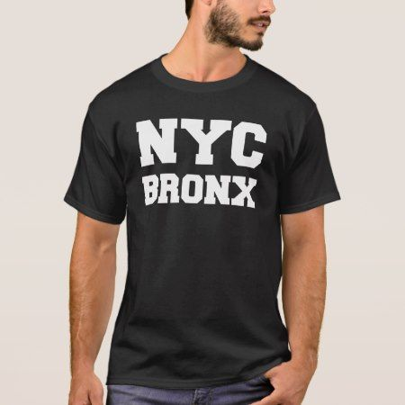 Black and White New York City Bronx T-Shirt - click to get yours right now!