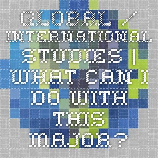 To major in international relations/foreign affairs, what should I do for my undergrad?