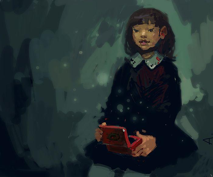 music Box girl The supernatural world magic