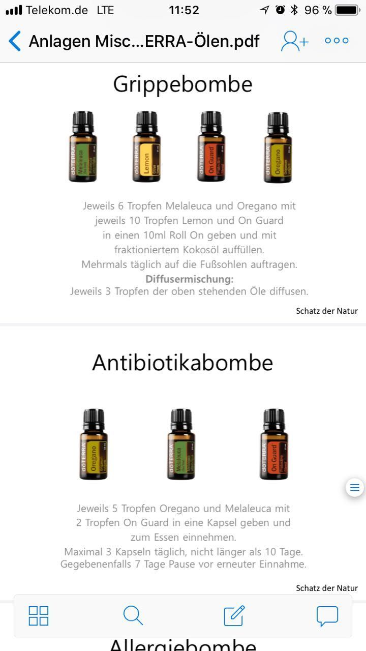 Doterra Doterra Atherische Ole Hautbehandlung Aromatherapie Ole