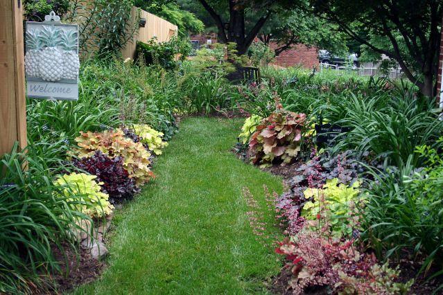 Shade Garden Path Pathways