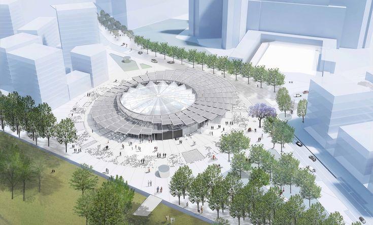Galeria de BIG junta-se a Kuma, Perrault e EMBT para projetar estações de metrô em Paris - 5