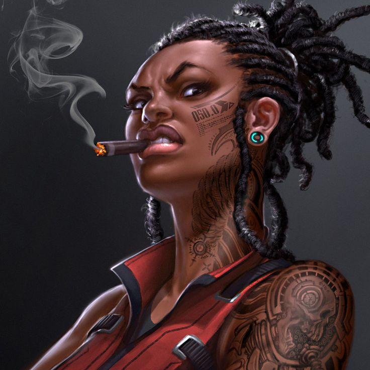 DG commander-Asha by *david-sladek on deviantART