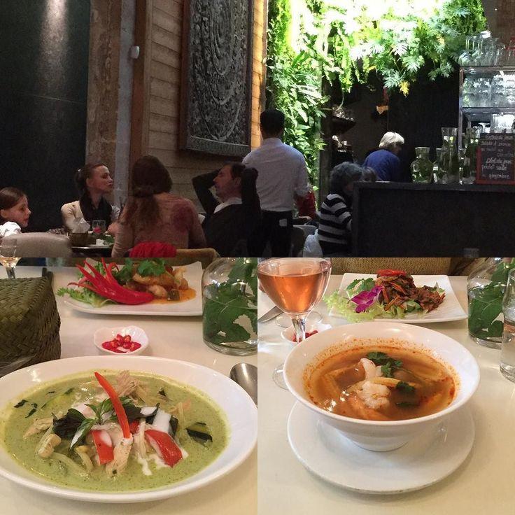 パリでタイランチ  マレ地区には美味しいスポットが一杯  でも辛くない そこはフランス流  #gourmand #paris #lemarais #france #パリランチ #マレ地区 #フランス #パリ #タイ料理 #パリのタイ料理は辛くない