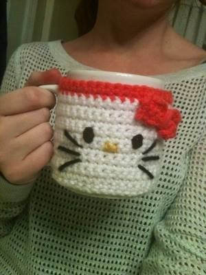 Luty Artes Crochet: Canecas decoradas com croché