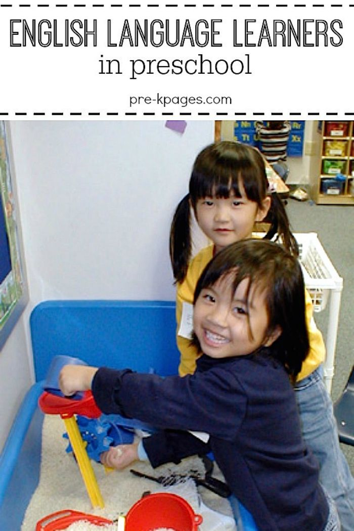 Tips for Working with English Language Learners in Preschool and Kindergarten.