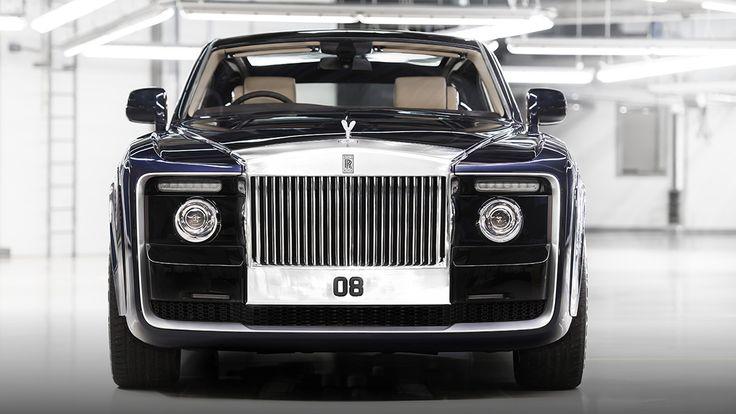 * Sweptail | Rolls Royce *  11,4 millions   €  .    << Rolls Royce Sweptail : un modèle unique pour un (très) riche client >>    Parmi les voitures de luxe, Rolls Royce tient une place d'honneur depuis plus d'un siècle. Avec la Sweptail, toutefois, le constructeur franchit une nouvelle étape dans l'exception.