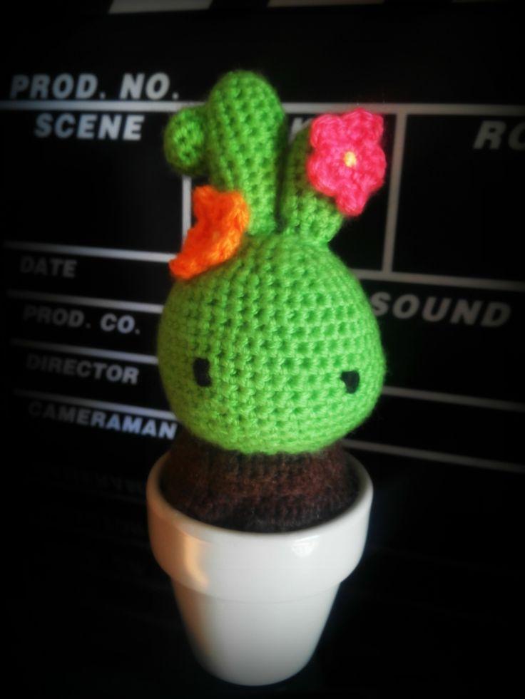 #Cactus molón de #amigurumi :D