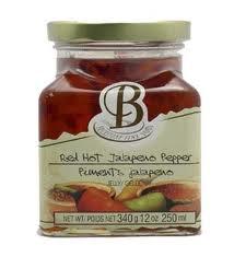 brickstone fine foods   Red Hot Jalapeno pepper Jelly  $7.99