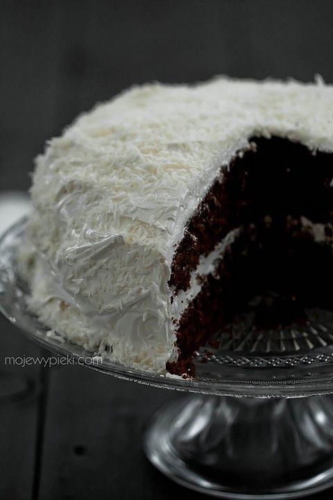 Tropikalne ciasto czekoladowe