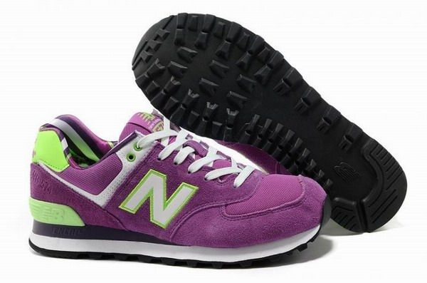 Joes New Balance 574 WL574YCK lovers Pink Green White Yacht Club Womens Shoes