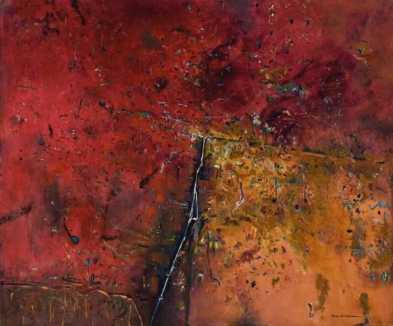 Major retrospective of Fred Williams' work. Williams had a unique way of perceiving the Australian landscape and he lived down the road from me. Too bad not at the same time...