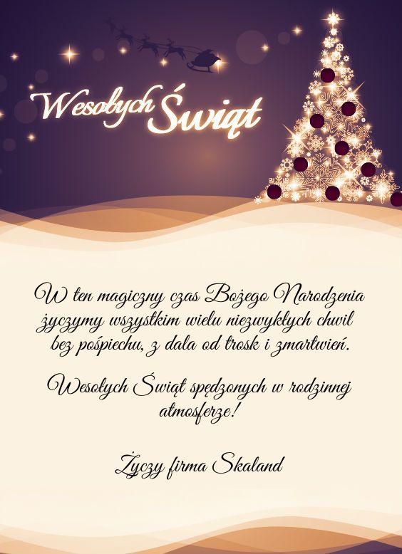 Wesołych Świąt wszystkim! :)