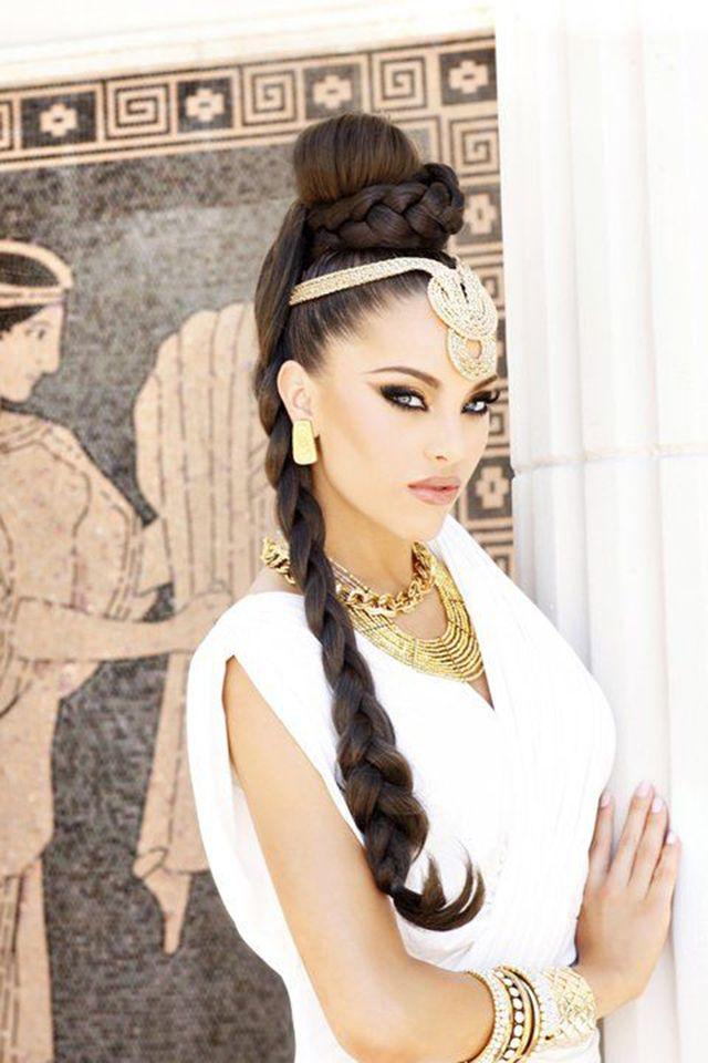 casamento grego cabelo e maquiagem