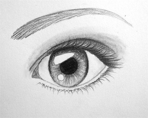 Les 25 meilleures id es de la cat gorie dessins d 39 yeux sur pinterest - Idees dessin simples ...