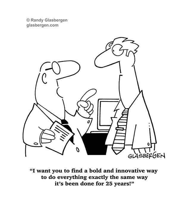 Friendly Find For Your Job Search: Many More Cartoons @ Www.glasbergen.com Find Out How To