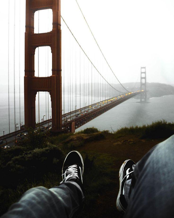 Golden Gate bridge. Iconic.