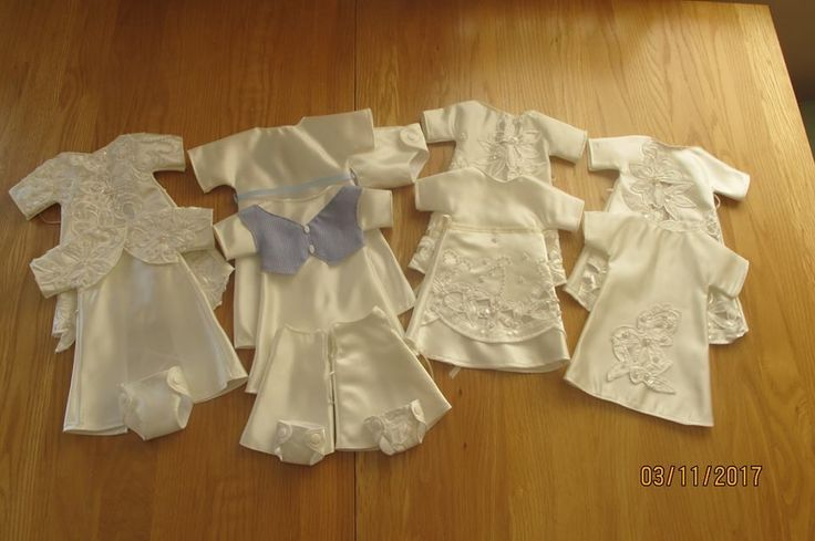 November 2017, a selection of items that make up our baby Bereavement Packs, made by our wonderful volunteers to ensure every UK Angel Baby has the chance to be dressed in a gorgeous Angel gown, with accompanying blanket, nappy, hat and bootees. All gowns made from a UK donated wedding dress.