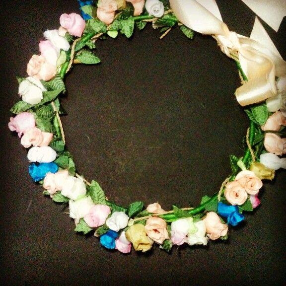 Flower crown #diy #handmade