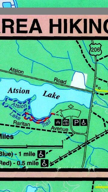 Atsion lake trails