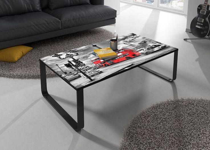 Dit is pas een unieke salontafel, met bedrukking van Londen. Voor slechts €59,- is hij al van jou! #uitverkoop #sale #tafel #woonkamer #huis #interieur #design #inrichting #meubelen #home #interior #table #london