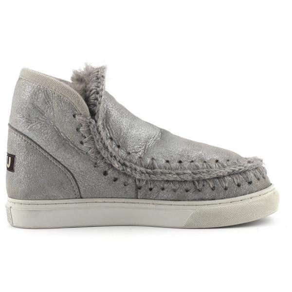 Mou Boots Mini Eskimo Sneaker Women Rock Metallic - MOU #mou #boots #mouboots #sneaker #women #fashion