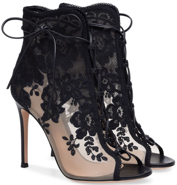 Showcasing the Milanese label's feminine aesthetic, this elegant design is finished with a leg-lengthening stiletto heel