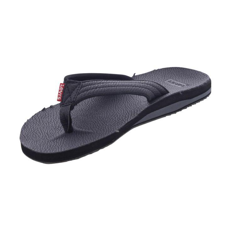Levis - Men's Kyle Slide Flip Flop - Black
