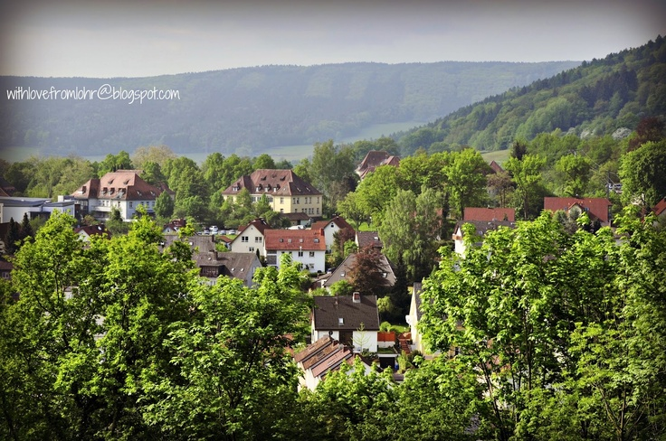 countryside in Lohr am Main..