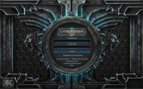 League of Legends on Behance