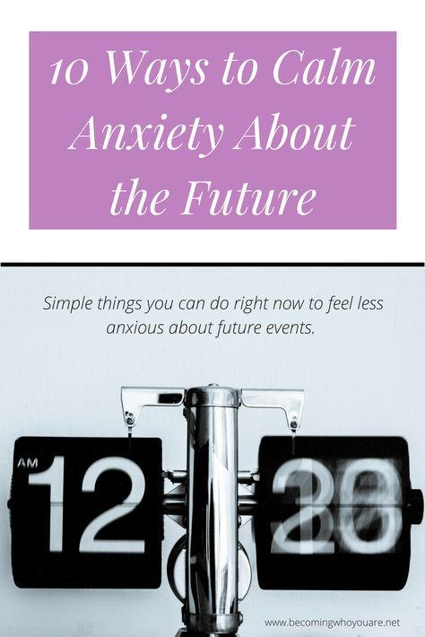 We all experience anxiety about upcoming events at one point or another. Click the image to discover 10 ways to calm anxiety, whatever life throws at you.