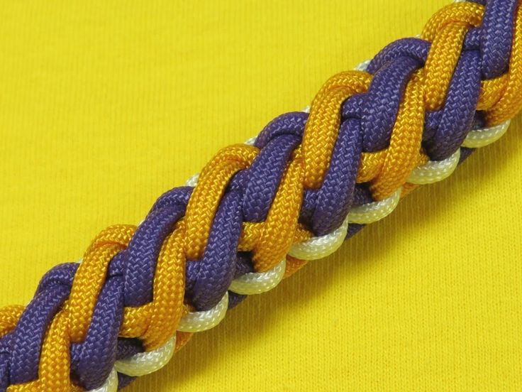 How to make a Viking Falls Sinnet Paracord Bracelet