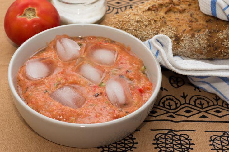Рецепт гаспачо - летний холодный суп испанской кухни