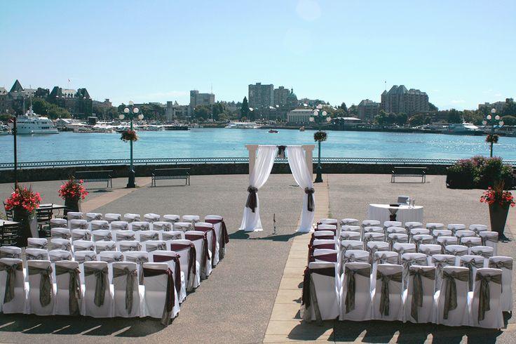 Decor: Charming Decor Event Design - Wedding Ceremony | Delta Victoria, BC