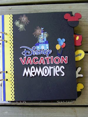 Álbum de recuerdos de las vacaciones   -   See It, Snap It, Scrap It!: My Latest Disney Album ...