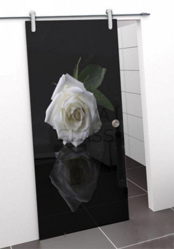 Συρόμενη πόρτα 80Χ200 με ψηφιακή εκτύπωση