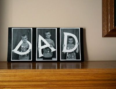"that artist woman: Easy Father's Day Project - Could be changed for ""Mom"" or any other loved one!"