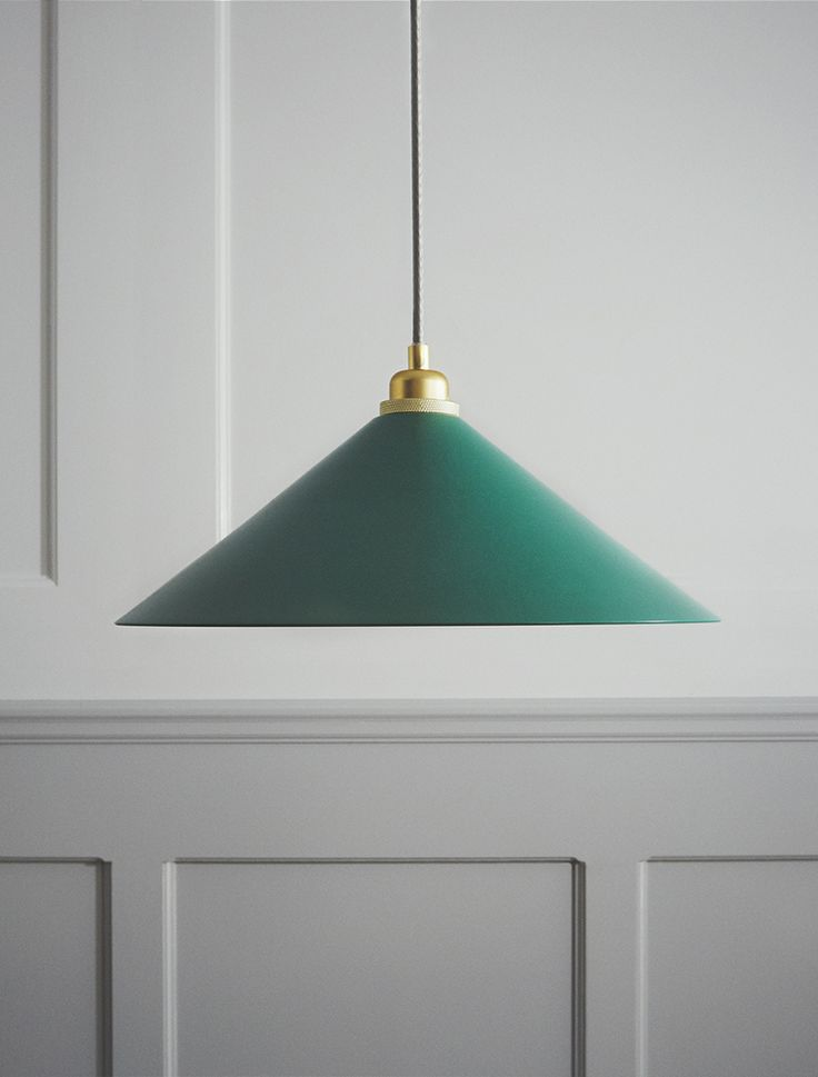Cone Shade in green by Frama.