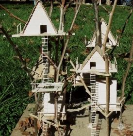 Oltre 25 fantastiche idee su case sull 39 albero su pinterest - Costruire case sugli alberi ...