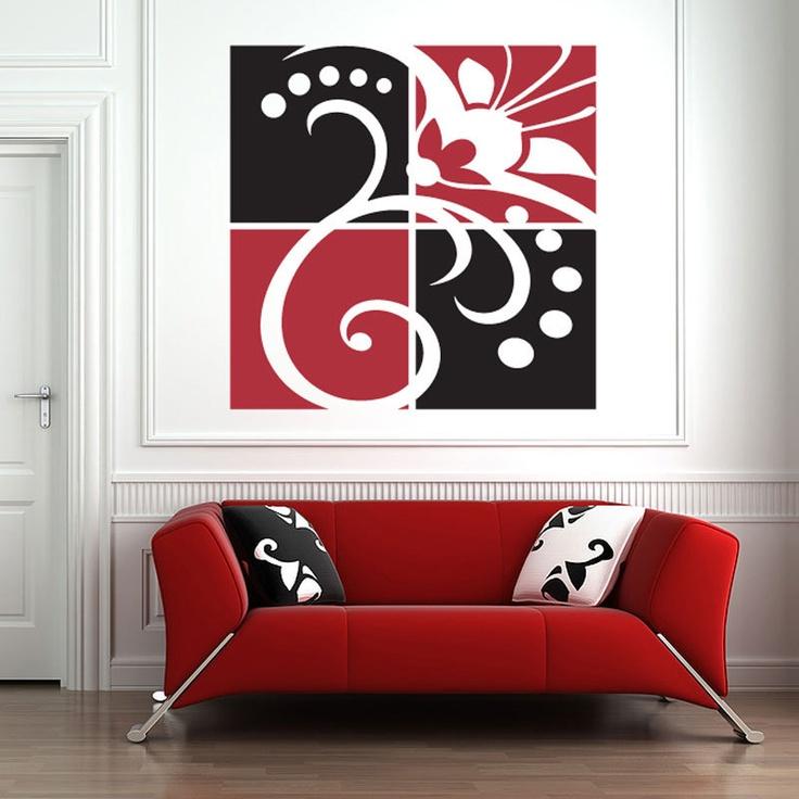 255 best vinilos decorativos images on pinterest vinyls for Stickers decorativos