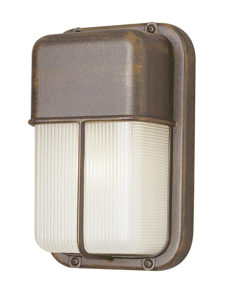 Hinson 1-Light Outdoor Flush Mount